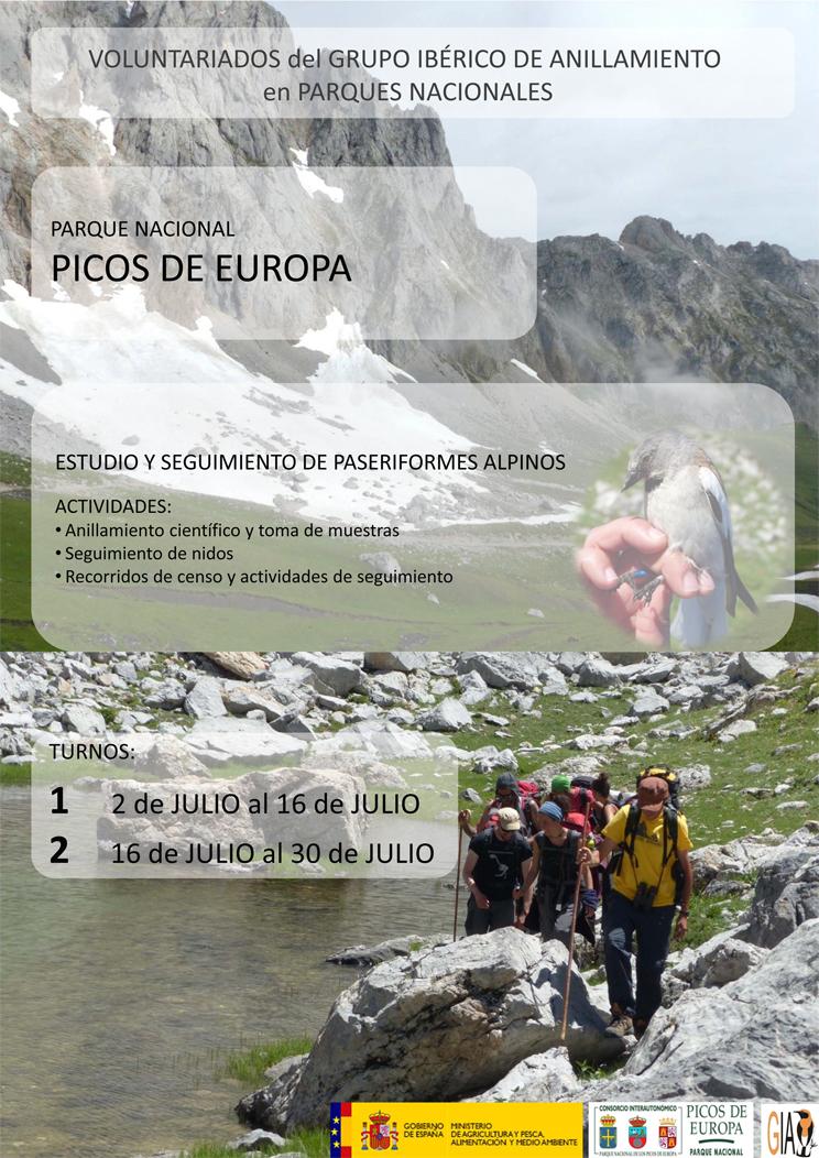 Voluntariado ambiental en los Picos de Europa, con GIA