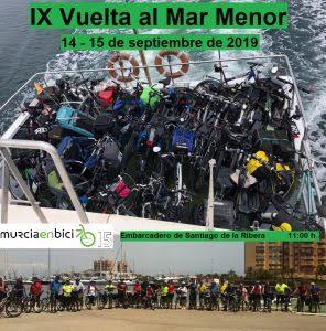IX vuelta al Mar Menor en Bici