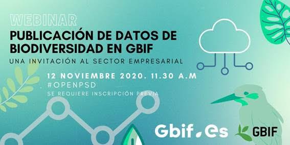 Webinar Publicación de datos de biodiversidad en GBIF, con RJB