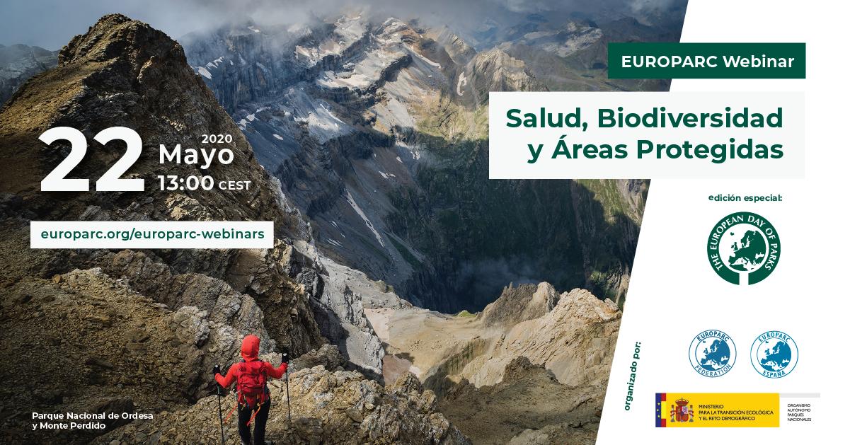 Webinario Salud, Biodiversidad y Áreas Protegidas, con Europarc-España