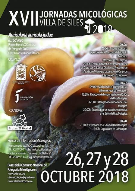 XII Jornadas Micológicas de Siles