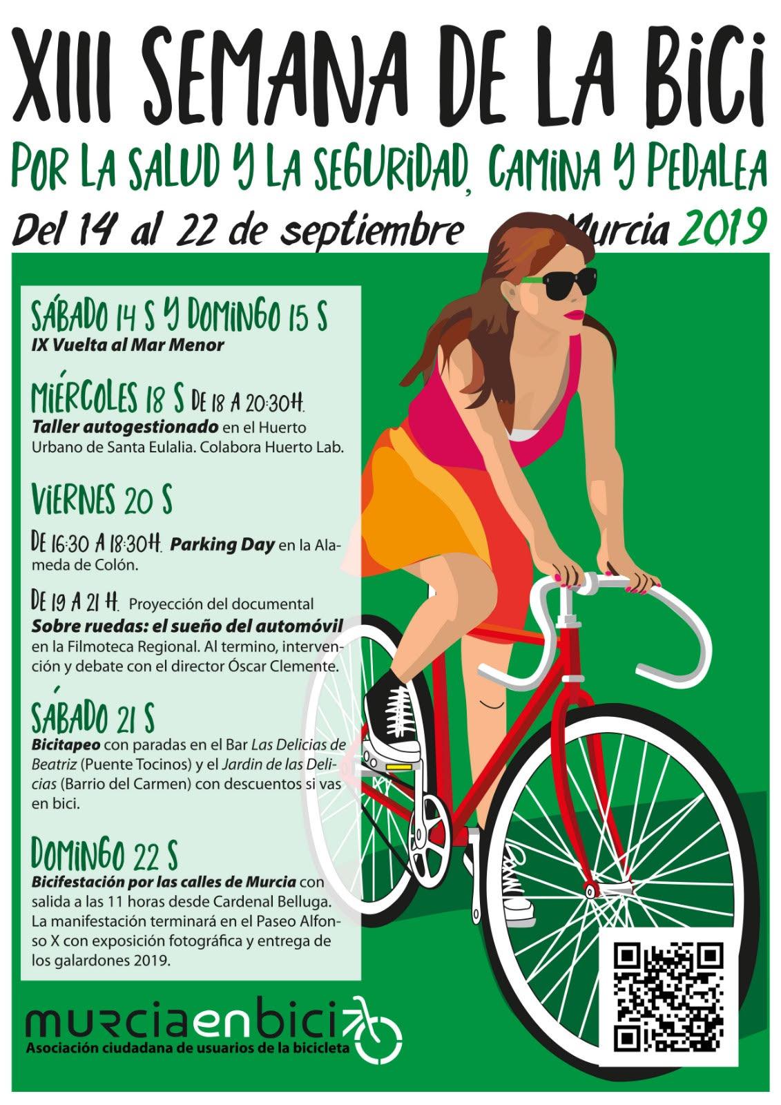 XIII Semana de la Bici de Murcia en bici