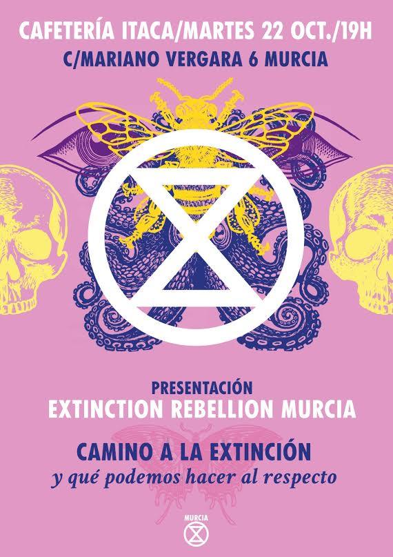 Cartel de la presentación de XR Murcia