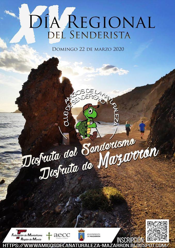 XV Día Regional del Senderista, con Amigos de la Naturaleza de Mazarrón