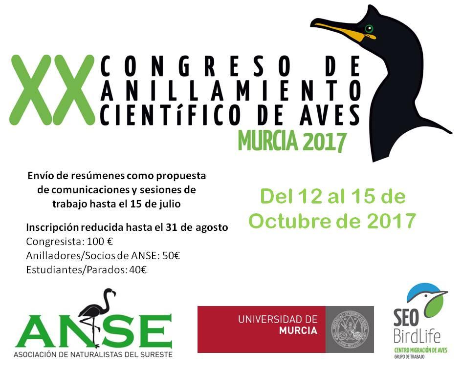 XX Congreso de Anillamiento Científico de Aves