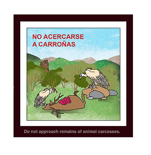 """""""No acercarse a carroñas"""" (Recomendación 4 de FOP)"""