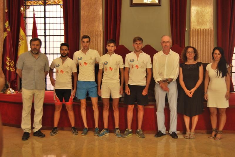 Recibimiento en el Ayuntamiento de Murcia