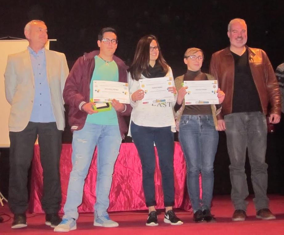 Ganadores de la VI Olimpiada de Geografía de la Región de Murcia