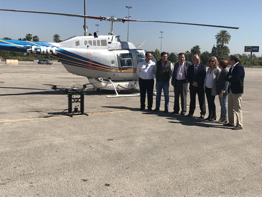 Un helicóptero sobrevolará el municipio para la identificación y mapeo de focos