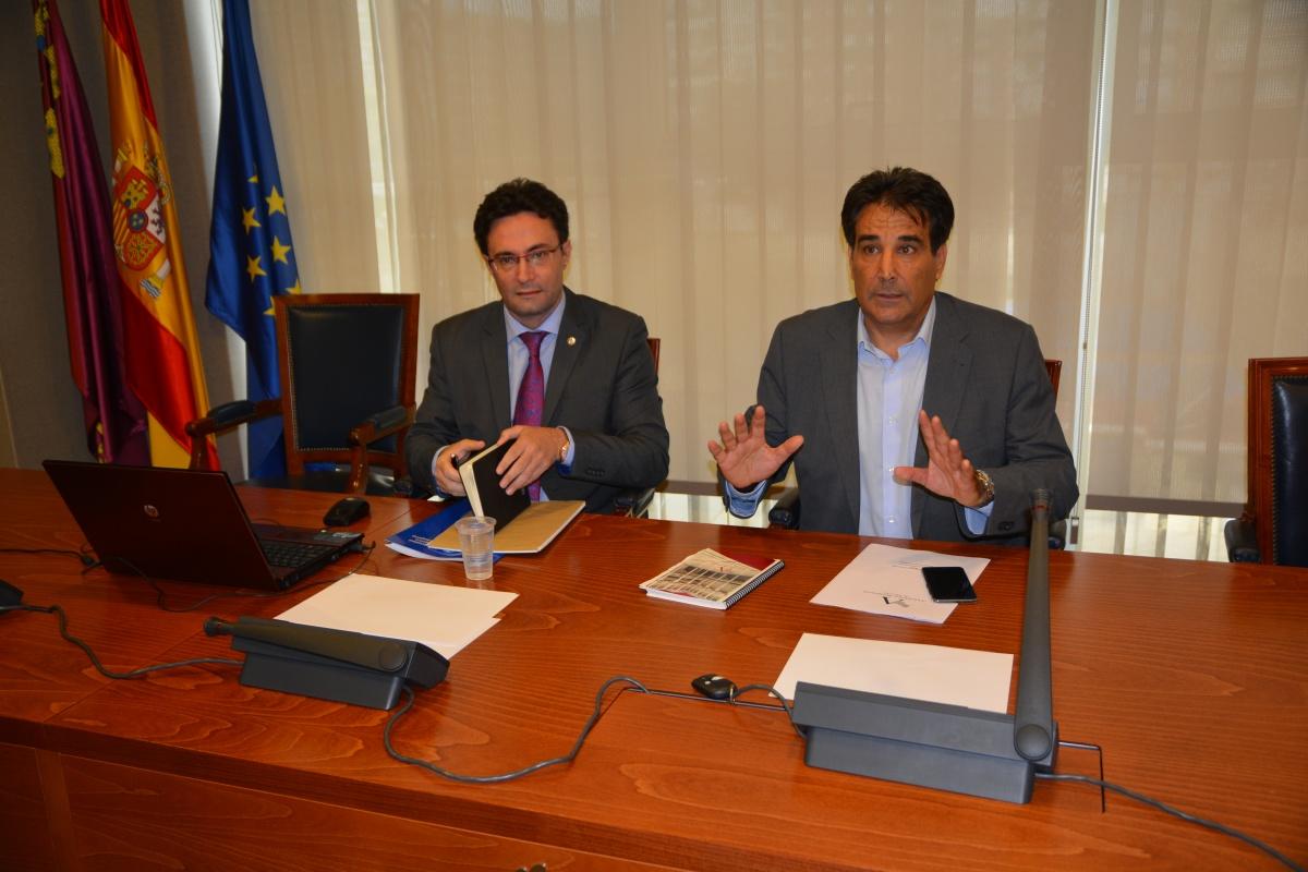 El vicerrector de Innovación y Empresa de la Universidad Politécnica de Cartagena (UPCT) y miembro del comité científico del Mar Menor, Alejandro Pérez Pastor. Imagen: UPCT