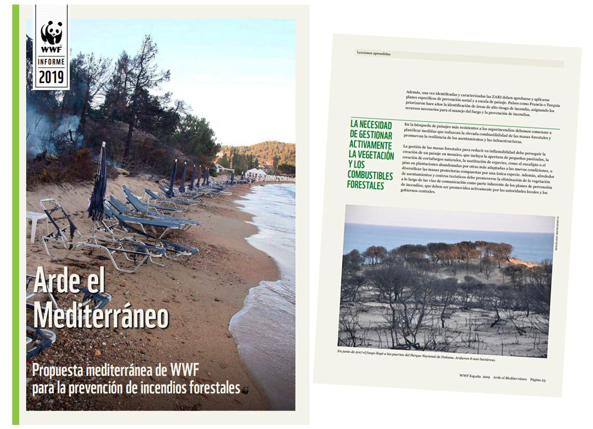 Informe 'Arde el Mediterráneo', de WWF