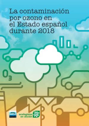 Portada del Informe anual sobre la Contaminación por Ozono de EEA