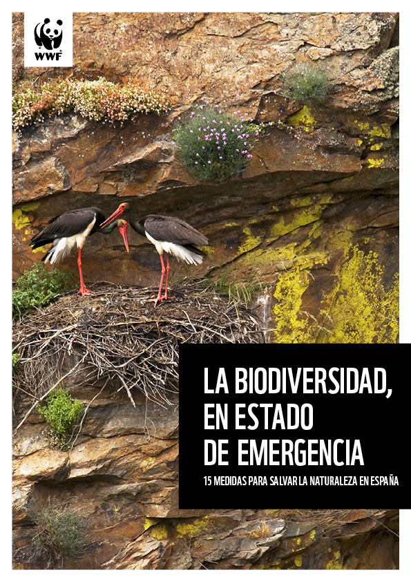 Portada del documento 'La biodiversidad, en estado de emergencia', de WWF