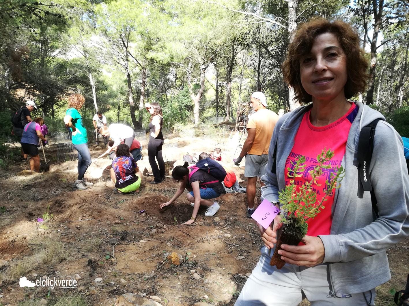 María José Vicente, investigadora principal del proyecto y profesora de la UPCT