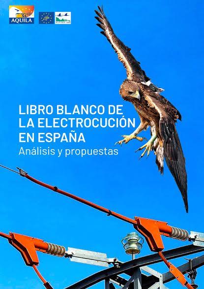 Portada del Libro Blanco de la Electrocución en España