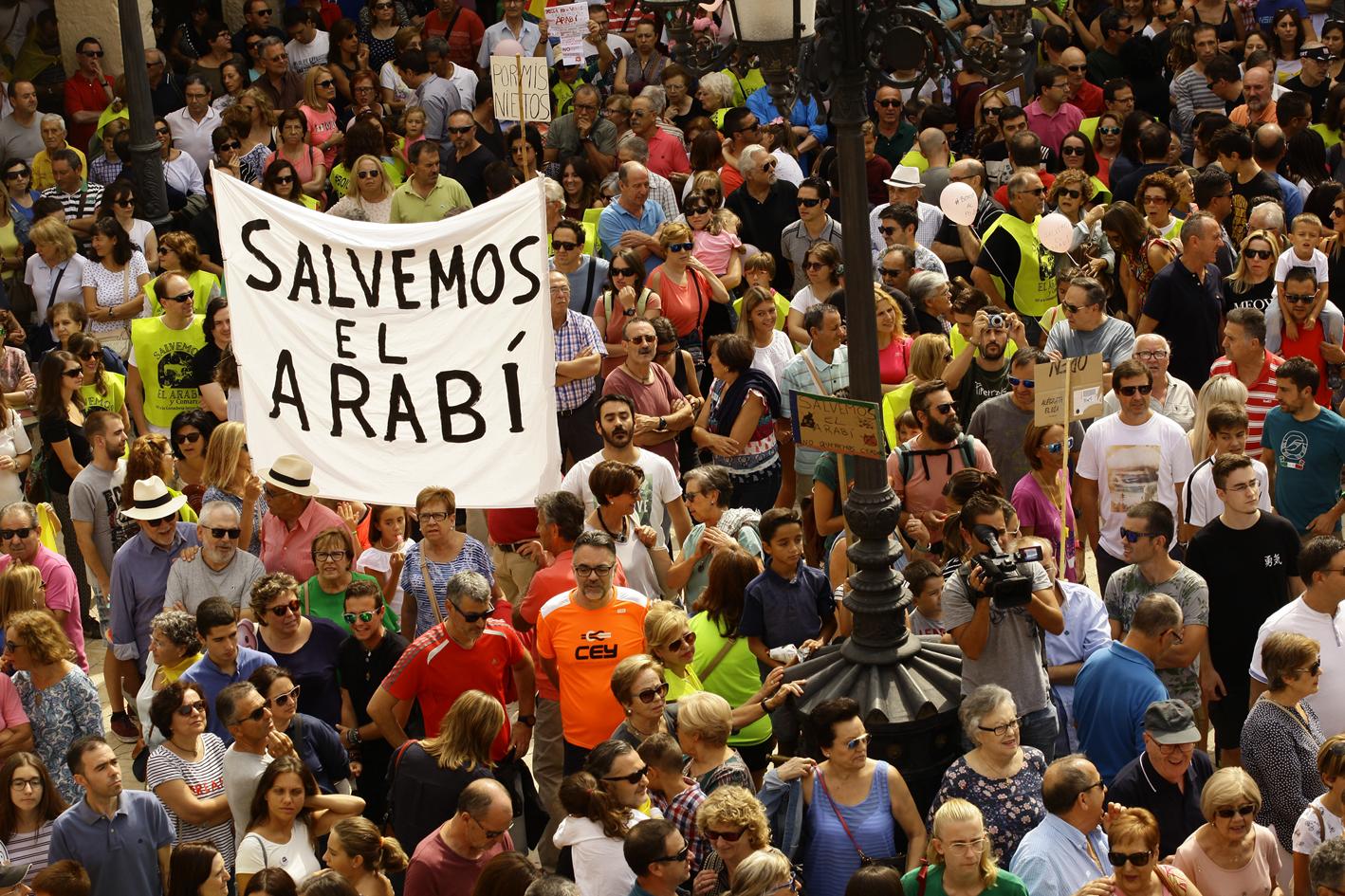 Imagen: Plataforma Salvemos el Arabí y la Comarca