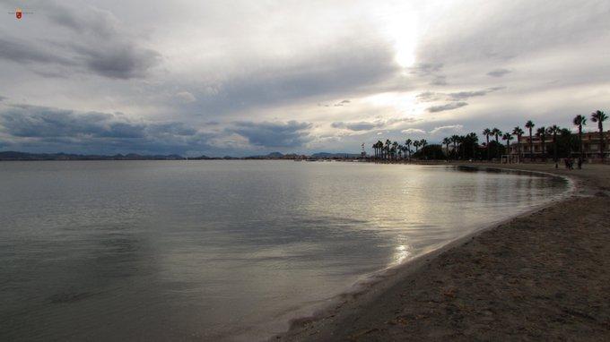 Aspecto del Mar Menor el pasado septiembre. Imagen: CARM