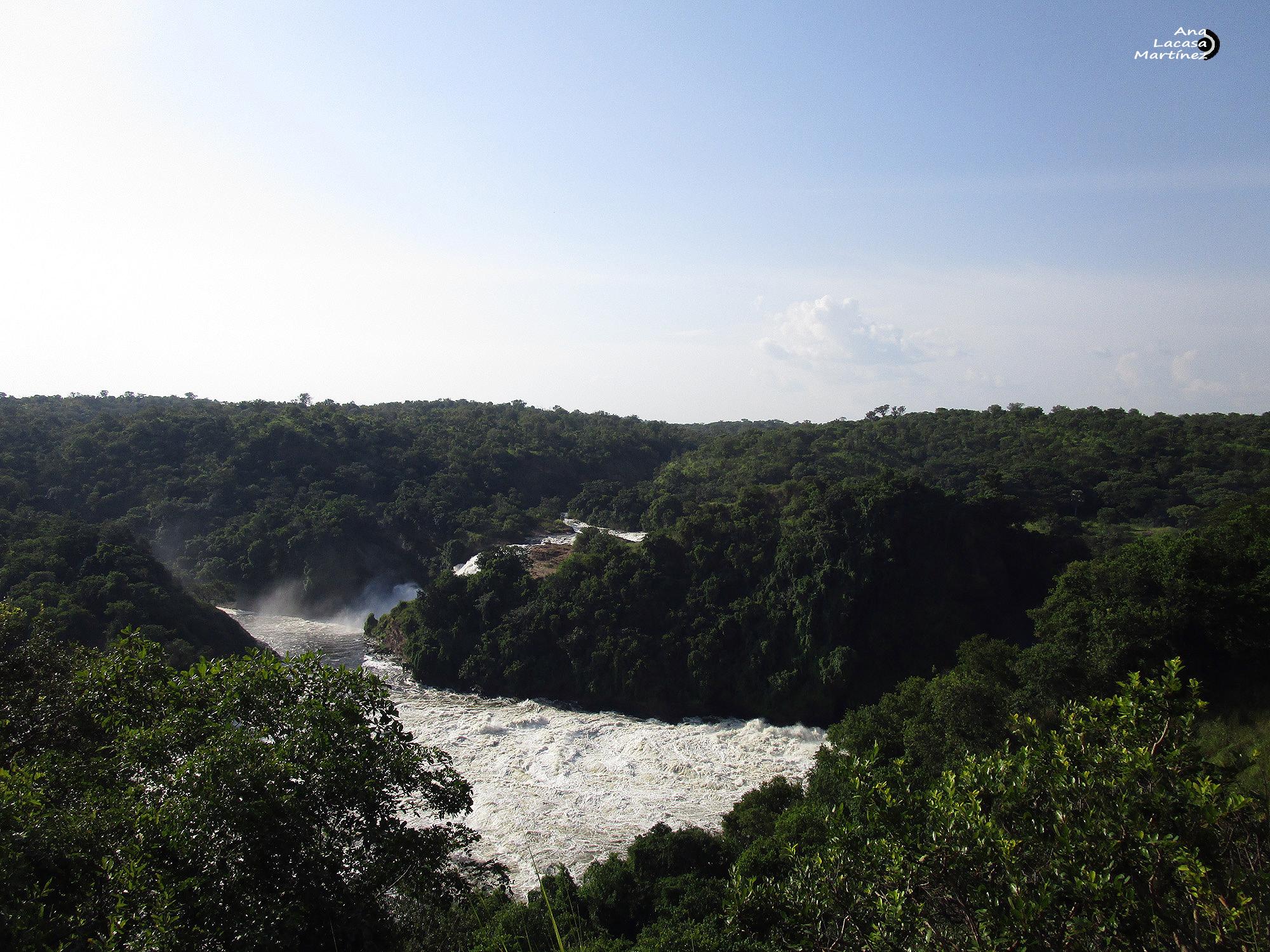 Una panorámica de las cataratas de Murchinson
