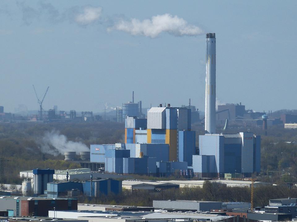 Incineradora de residuos en Alemania. Imagen: Pixabay