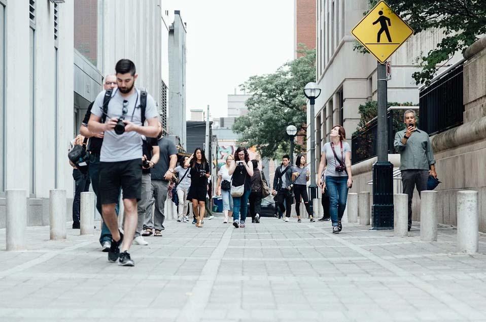 Peatones. Imagen: Pîxabay