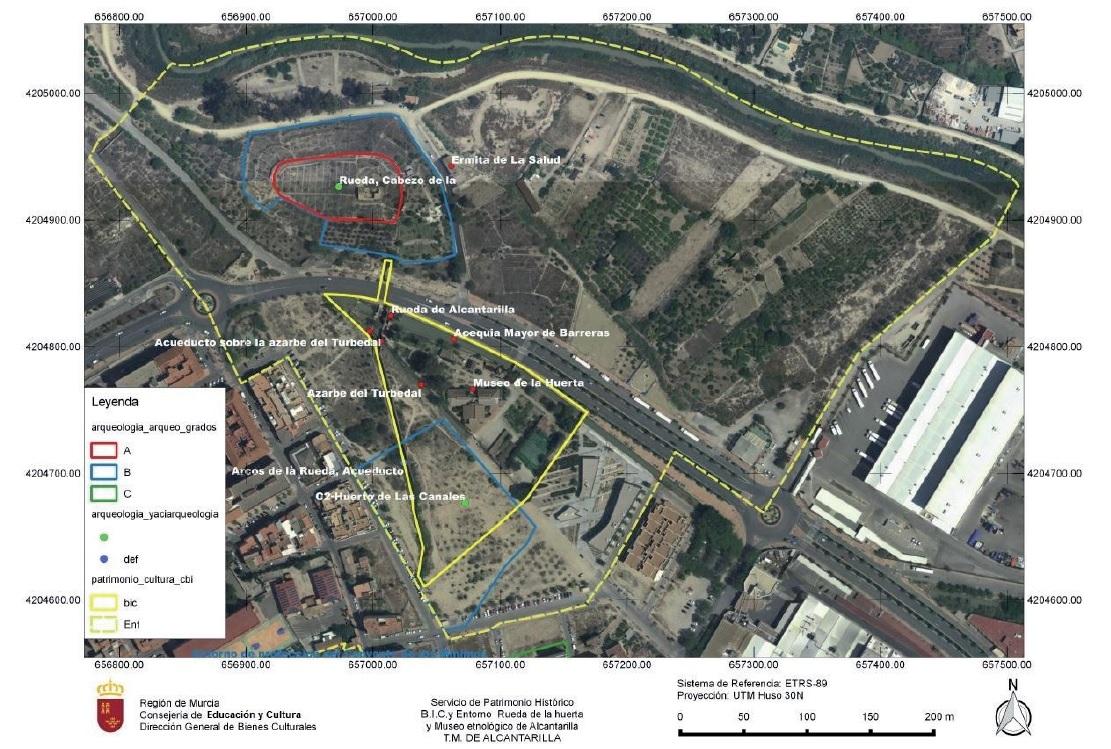 Plano definitivo del Monumento BIC. Imagen: Huermur