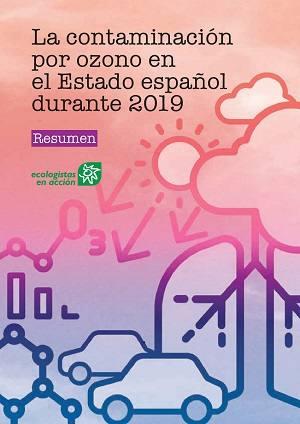 Portada del Informe anual sobre la Contaminación por Ozono de Ecologistas en Acción. Imagen: EEA