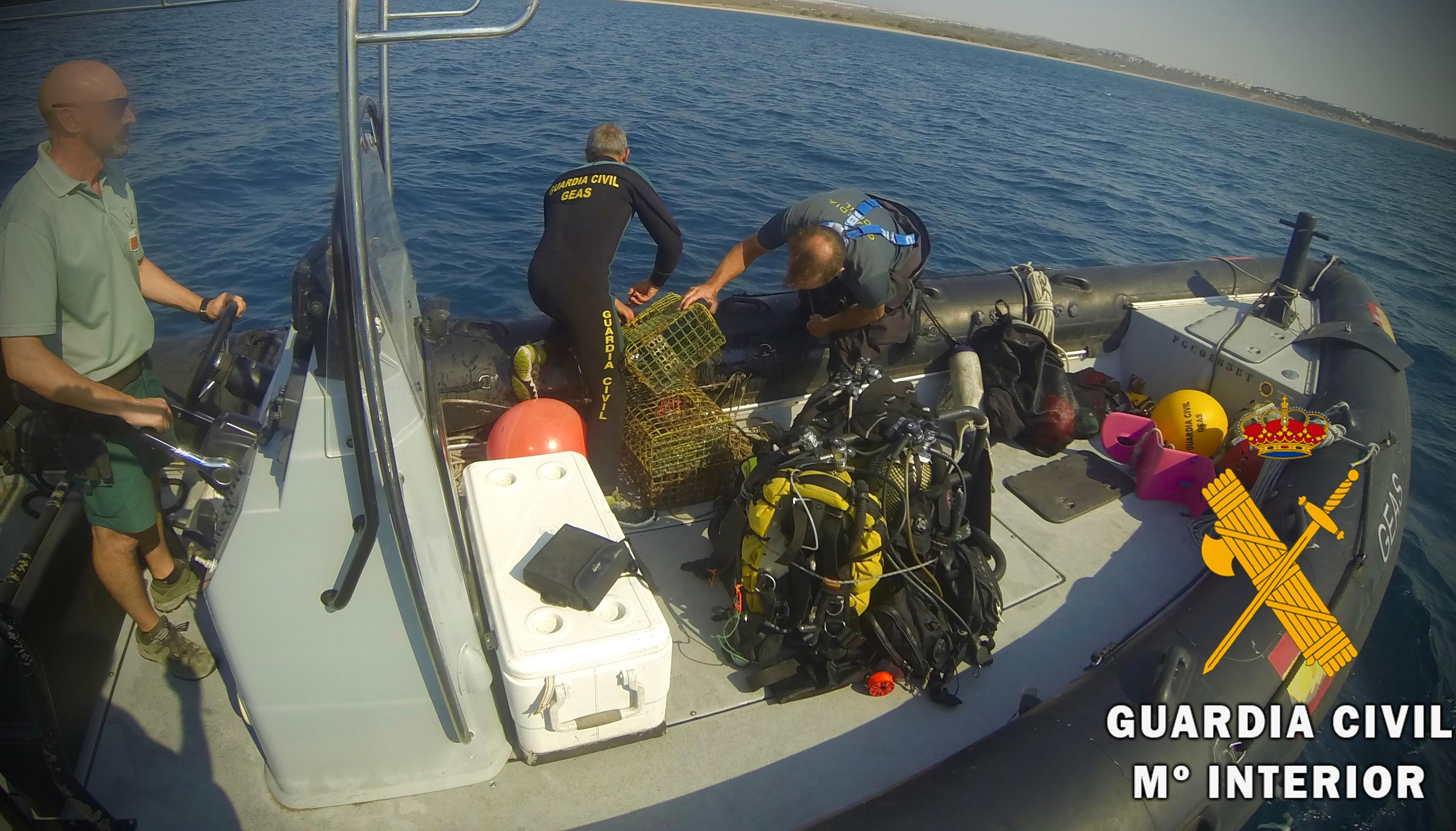 Imagen: Guardia Civil de Almería