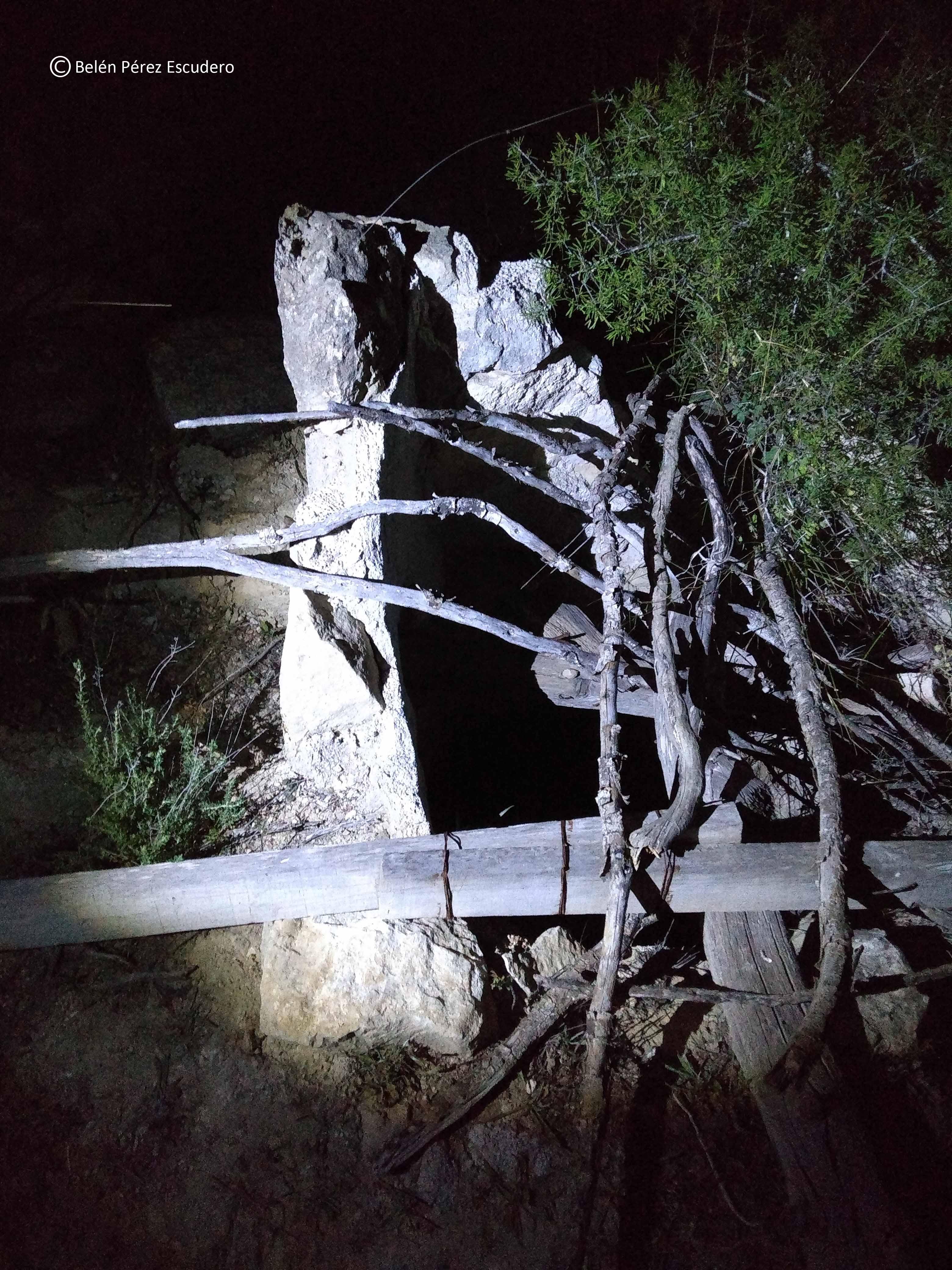 Una vez avisada la Administración, sólo queda que el pozo sea sellado. Imagen: Belén Pérez Escudero