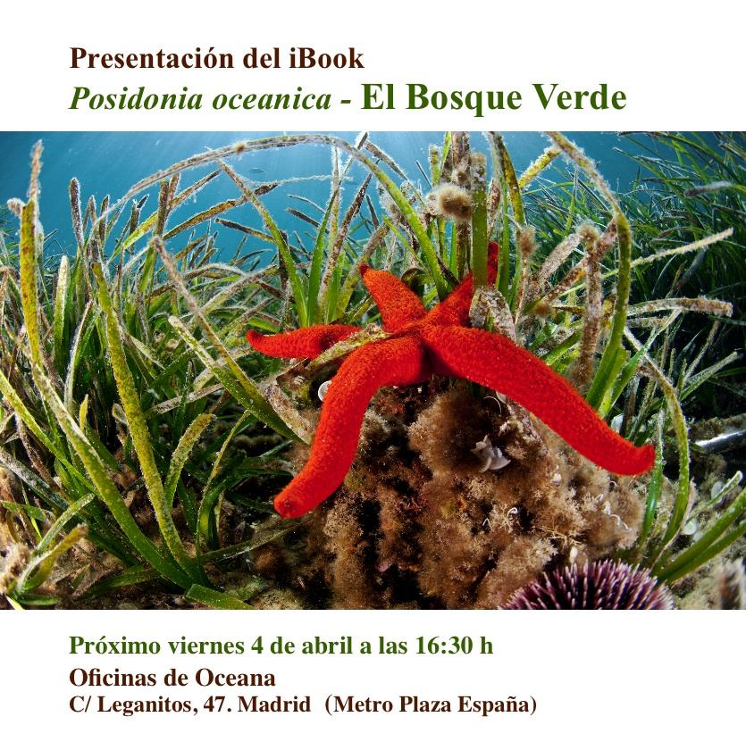 Presentación del ibook sobre Posidonia oceanica