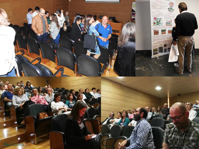 Imágenes de la asistencia a la Jornada Divulgativa organizada por elclickverde