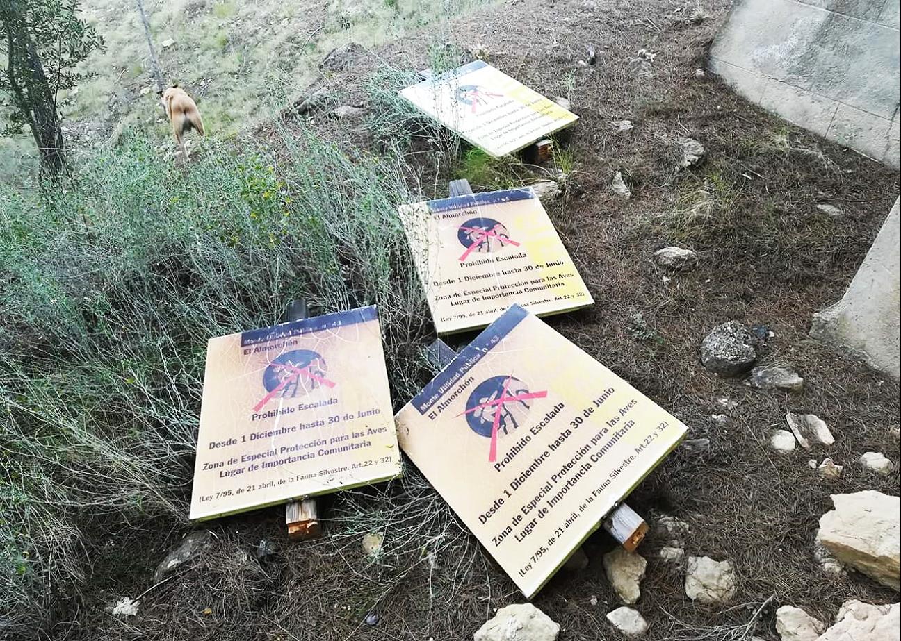 Fotodenuncia de Rafael Partera, miembro de las asociaciones consevacionistas Acpes y Ríoríe y vecino de la zona del Almorchón