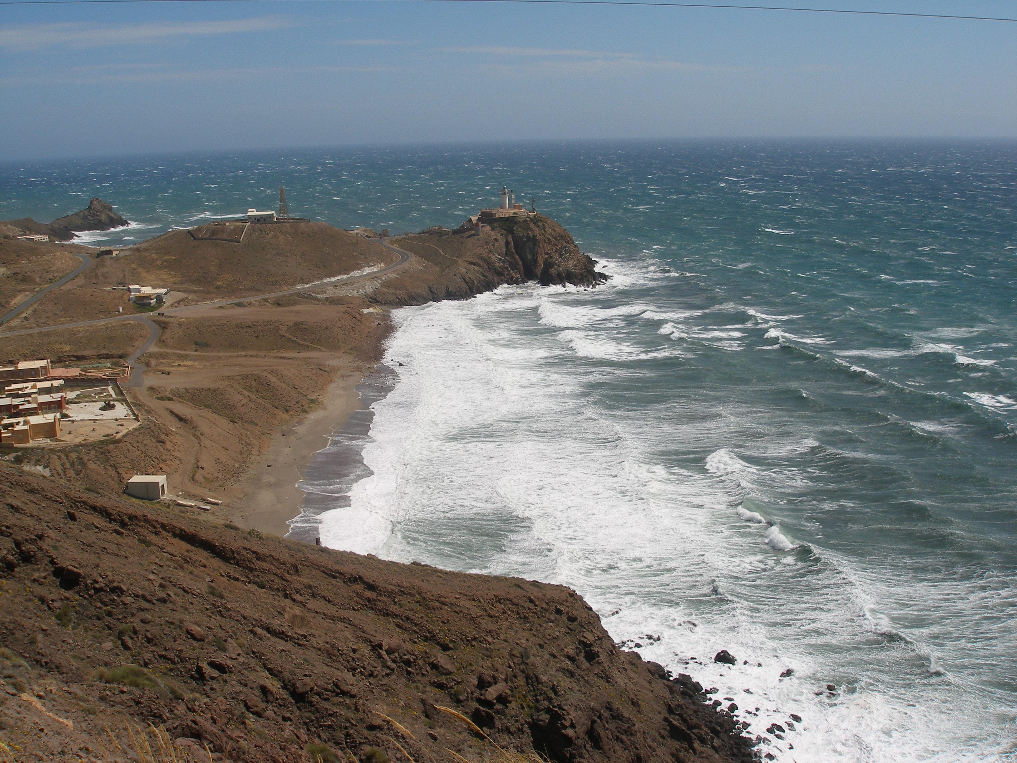 Vista de una zona de la futura Reserva Marina de La Gomera. Imagen: CARM