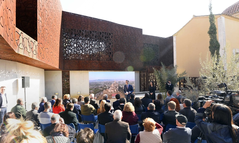 Un momento de la presentación. Imagen: Ayto. de Murcia