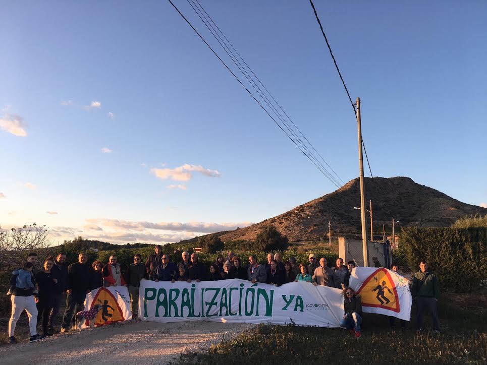 Un momento de la protesta del pasado sábado 23 de noviembre. Imagen: EEA