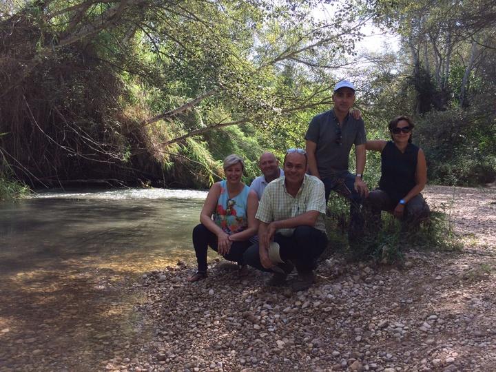 Un momento de la visita técnica que ha realizado la directora general de Medio Natural, Consuelo Rosauro. Imagen: CARM