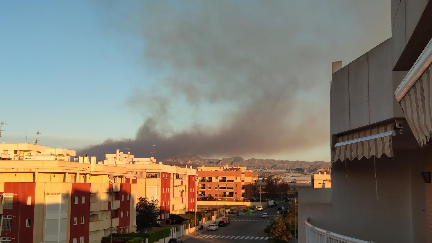 Imagen: StopQuemas Águilas