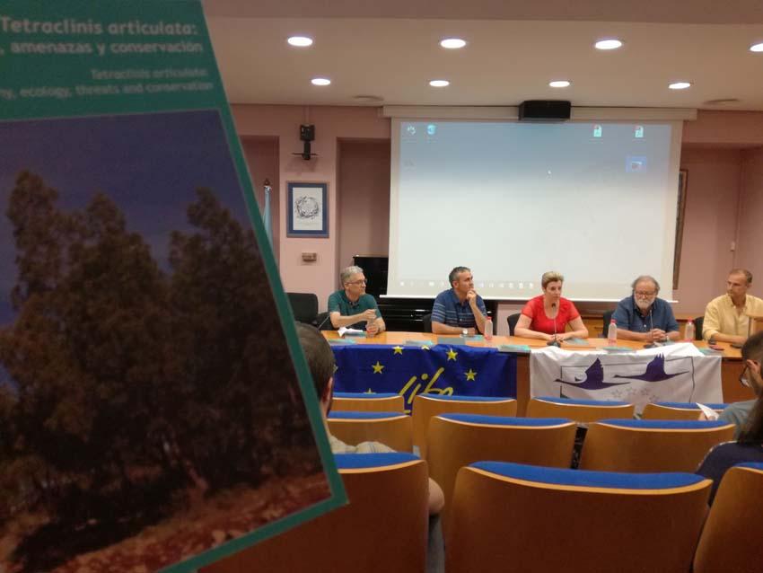Presentación del libro 'Tetraclinis articulata: biografía, ecología, amenazas y conservación'