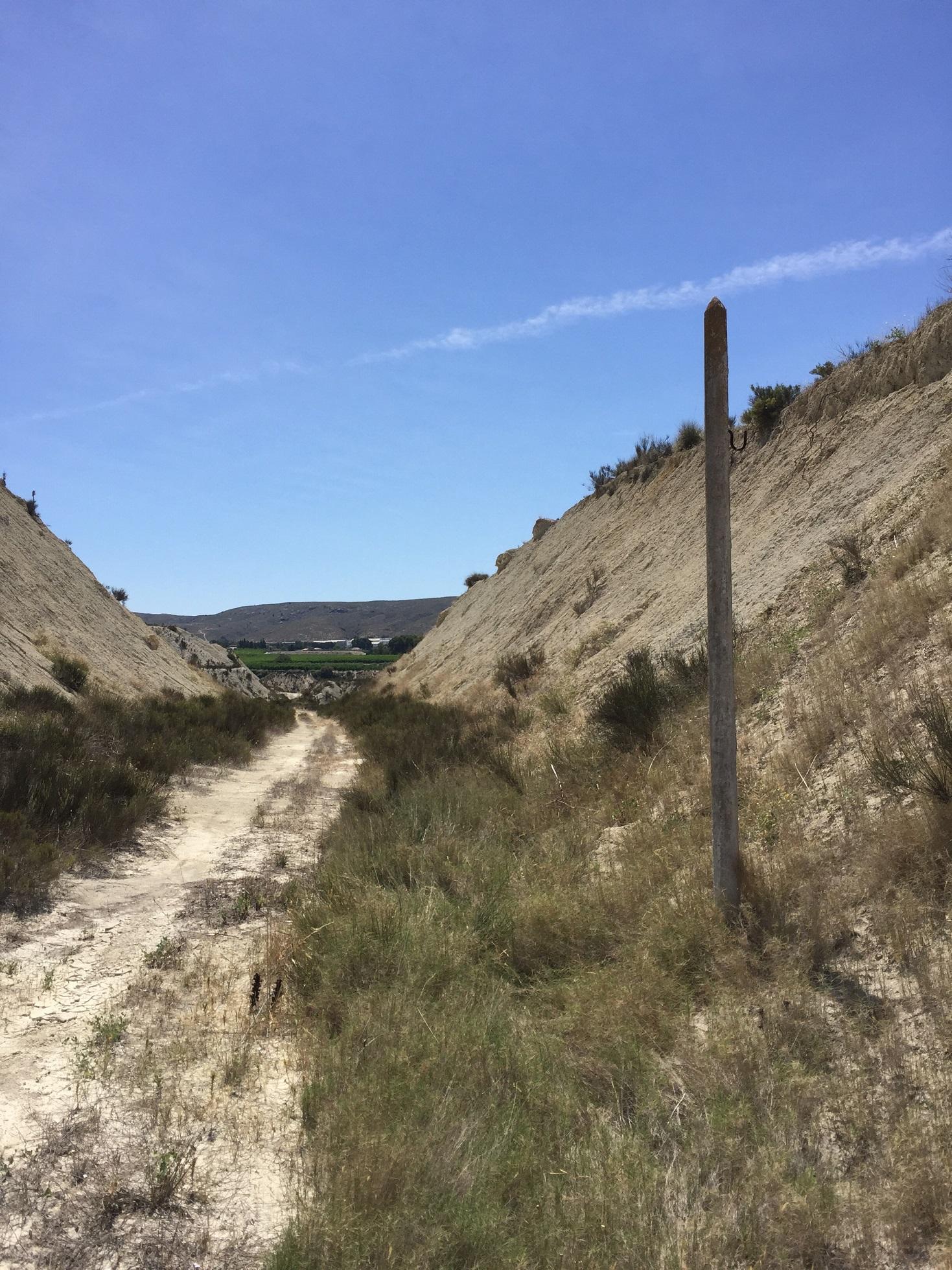 Vía Verde del Chicharra. Imagen: CARM