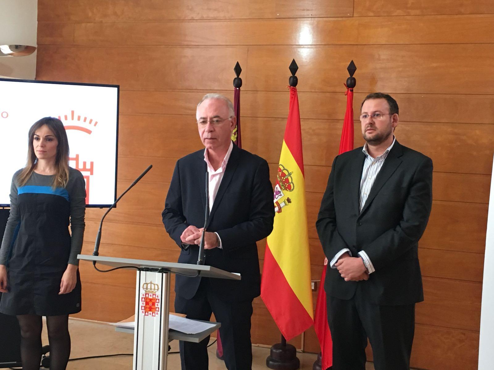 Antonio Navarro, Concejal de Urbanismo, Medio Ambiente y Huerta. Imagen: Ayuntamiento. de Murcia