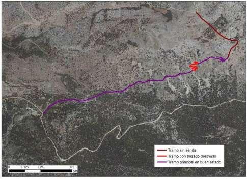 Zonas restringidas temporalmente Solana Pedro López-2018. Imagen: CARM